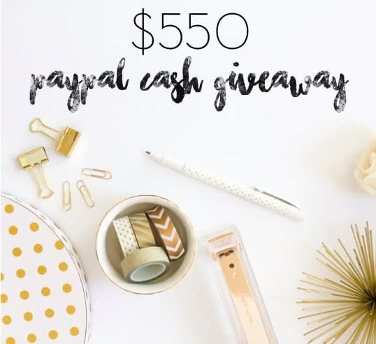 Need Cash? Enter This Giveaway For a Chance To Win!