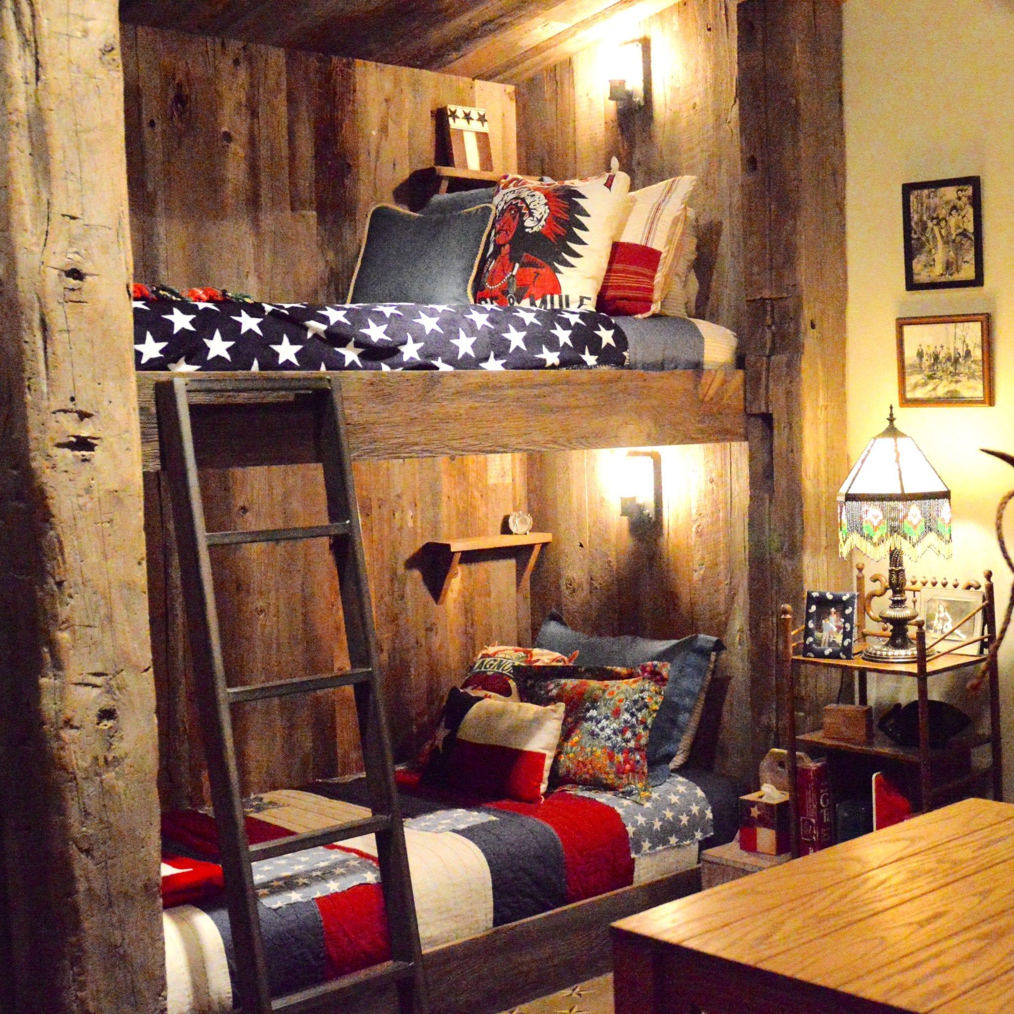 Designing + Decorating a Bunkroom Western Style - SheShe Show