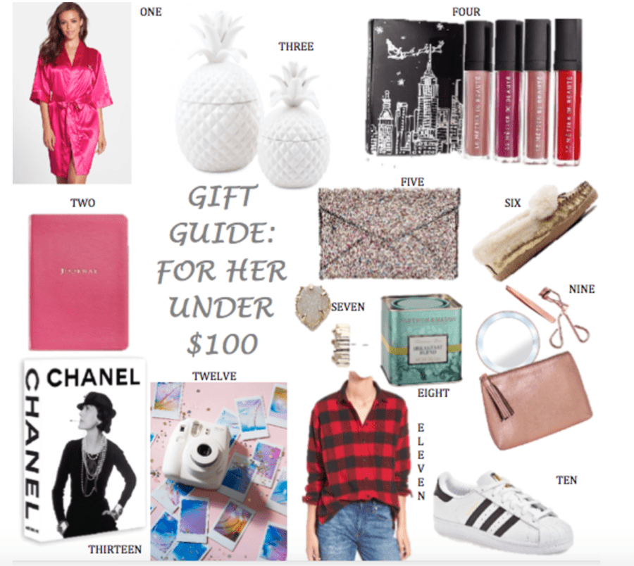 Holiday Gift Guide For Her Under 100 Sheshe Show