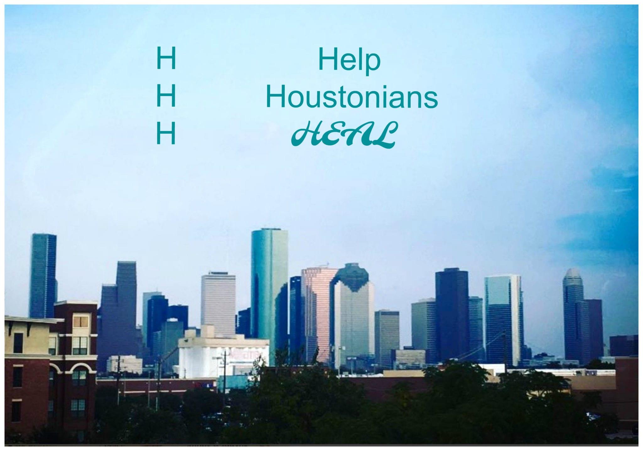 SheShe's Weekend Wanderings | Help Houstonians Heal