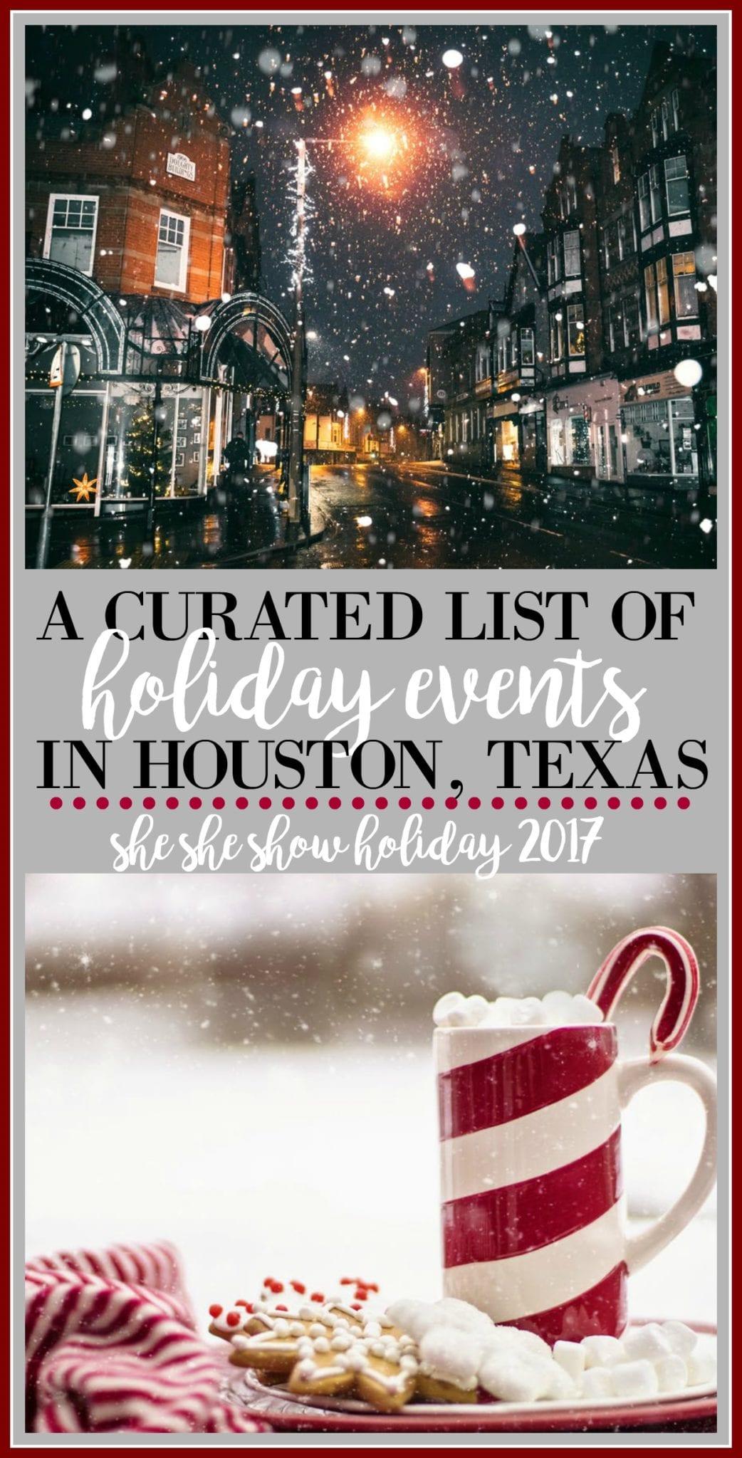 houston, christmas, holiday events, texas