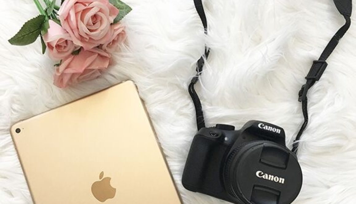 Rafflecopter Giveaway || Rose Gold iPad + Cannon Rebel Kit
