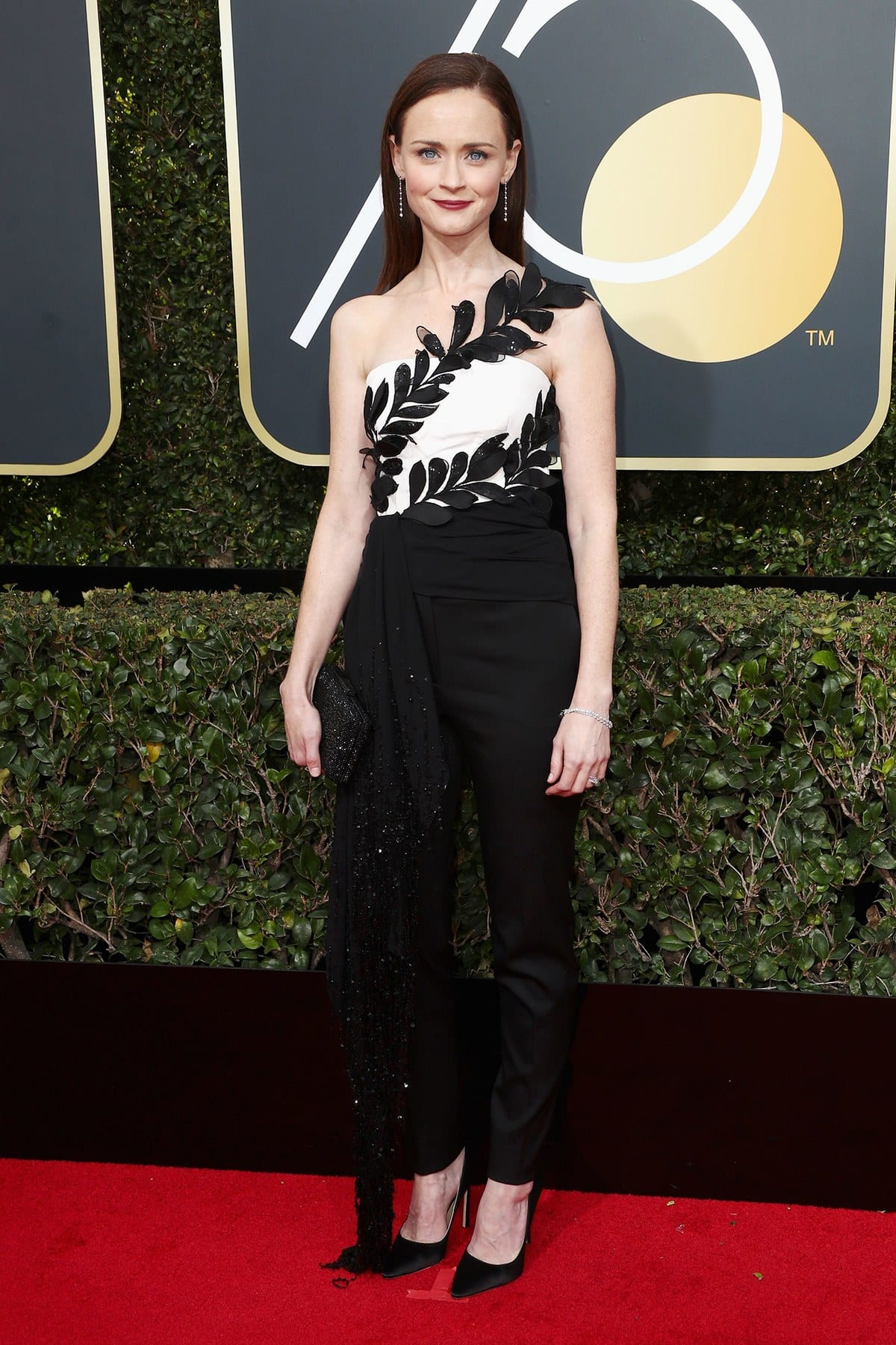 best dressed golden globes, golden globes 2018, gowns, Alexis Bledel