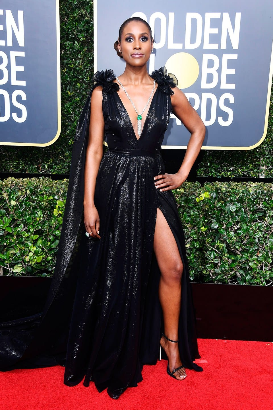 golden globes best dressed, golden globes 2018, issa rae, gowns