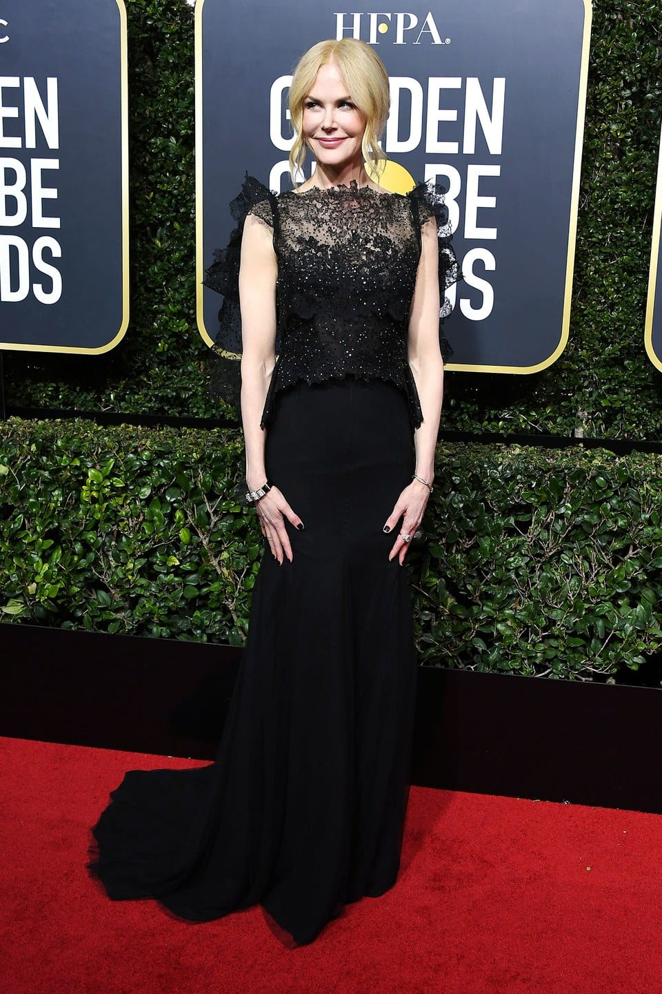 golden globes best dressed, golden globes 2018, Nicole Kidman, big little lies