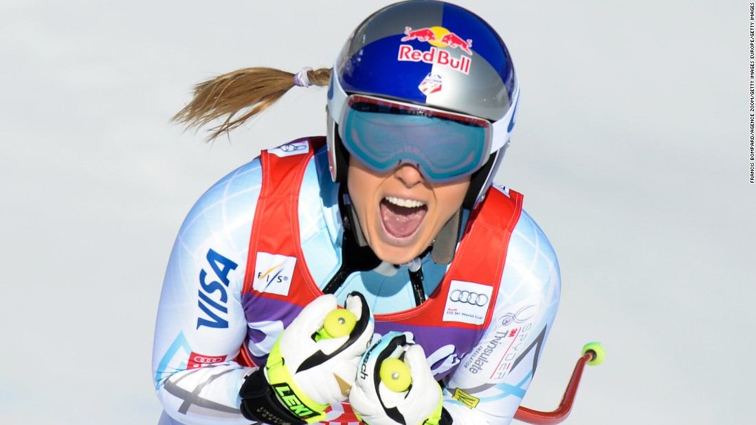 skiing, lindsey vonn, 2018 winter olympics,