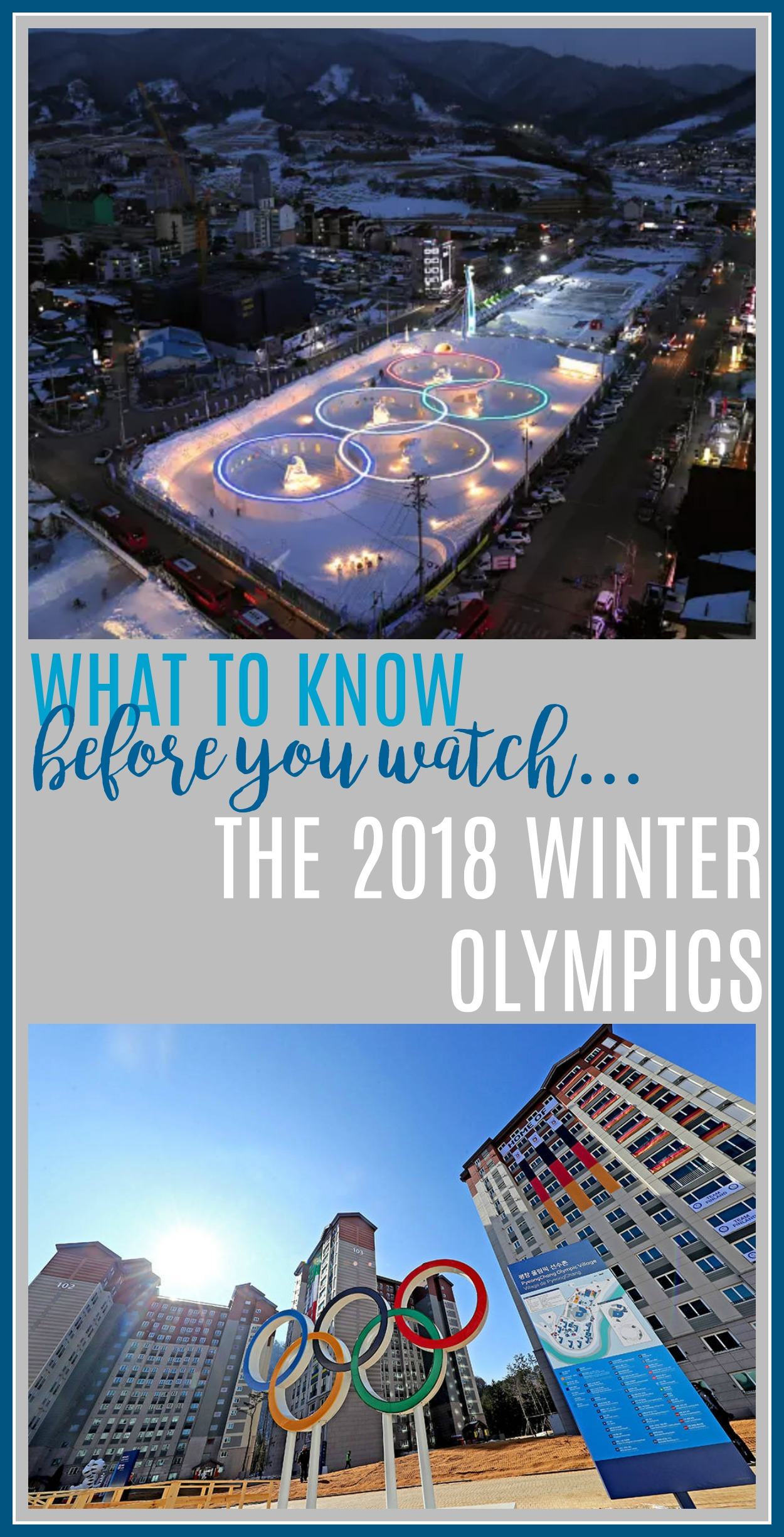 watching the winter olympics, viewing guide to the winter olympics, pyongchang 2018, winter sports