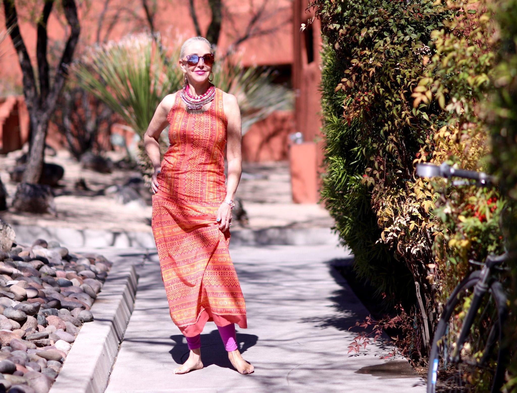 Kuhl, resort wear, spa wear, bohemian outfit, leisure wear