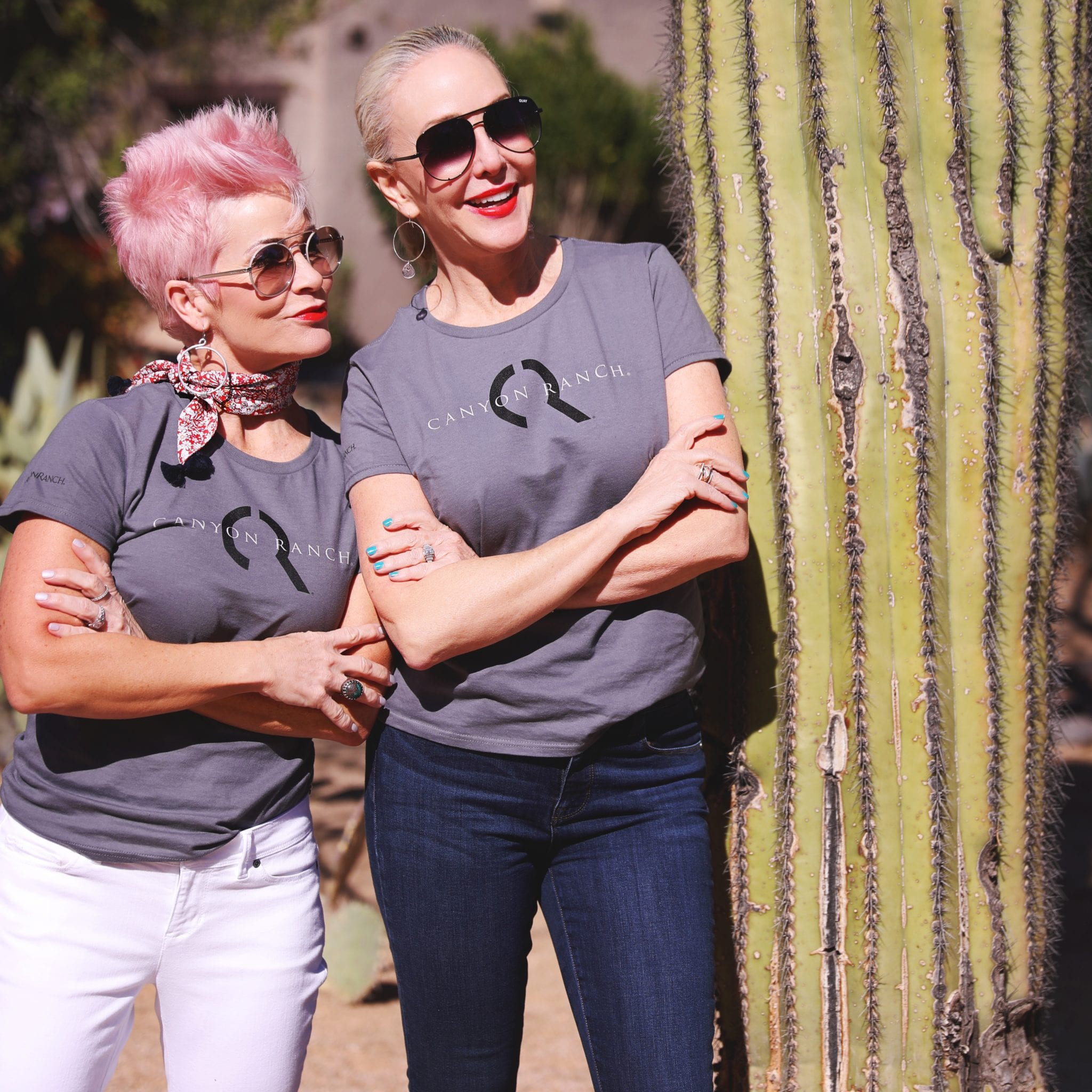 SheShe Show & Chic Over 50, spa girls, travel bloggers,