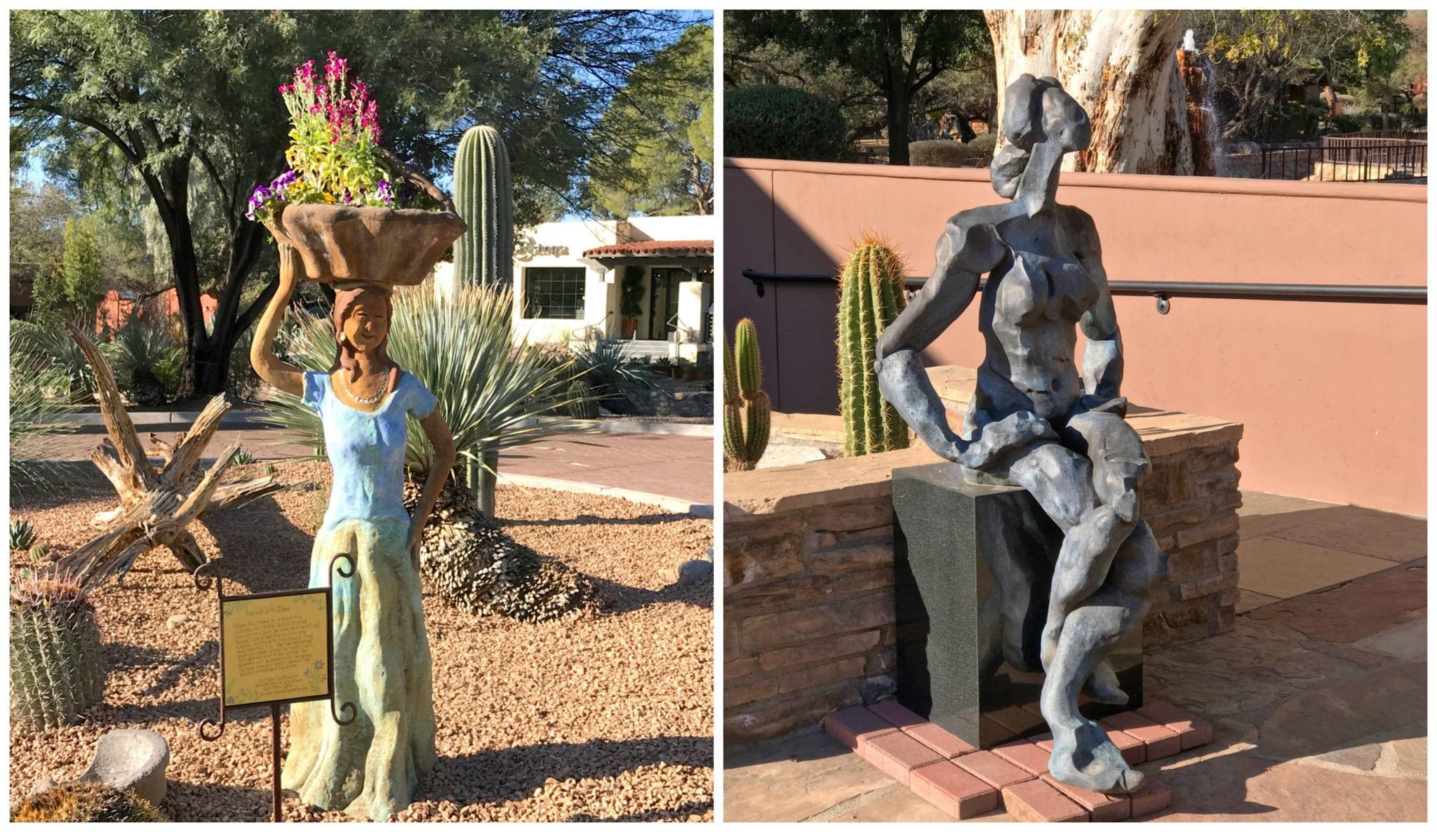 Sculptures,Spa, health retreat, wellness retreat, spa, relaxation destination, healthy vacation