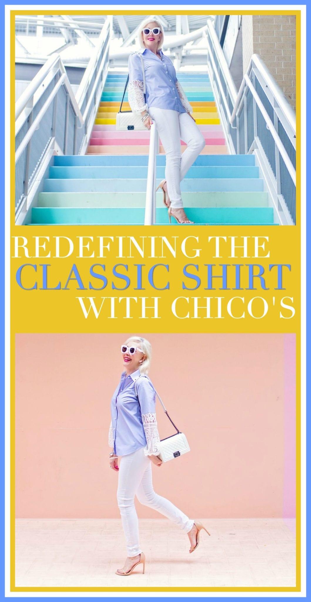 classic shirts, chicos, womens fashions, womens clothing