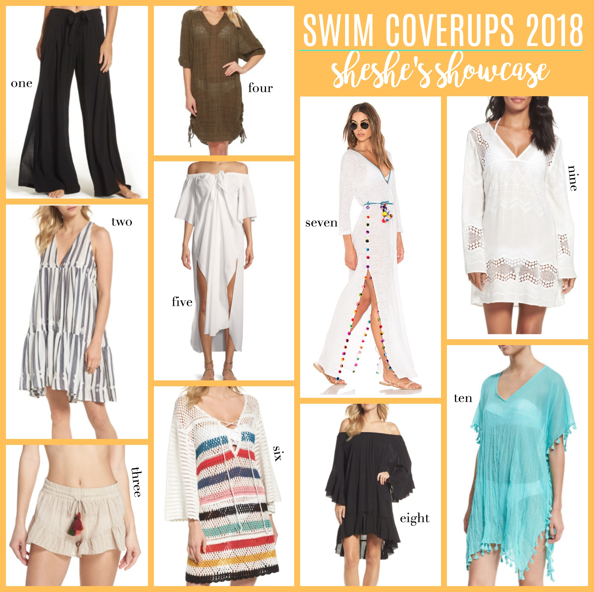 swimsuit coverups, swim wear, swimwear 2018, summer fashion, summer outfits, swim outfits