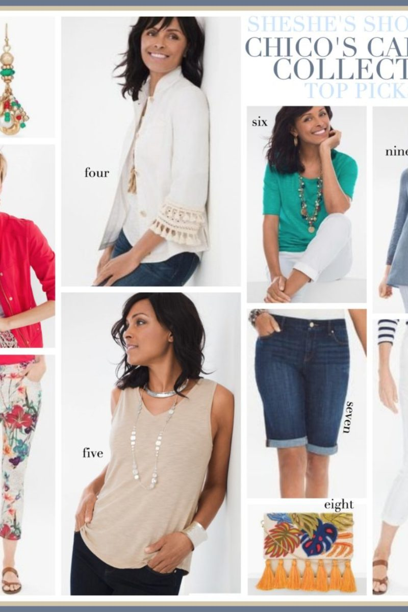 chicos capsule collection, chicos clothing