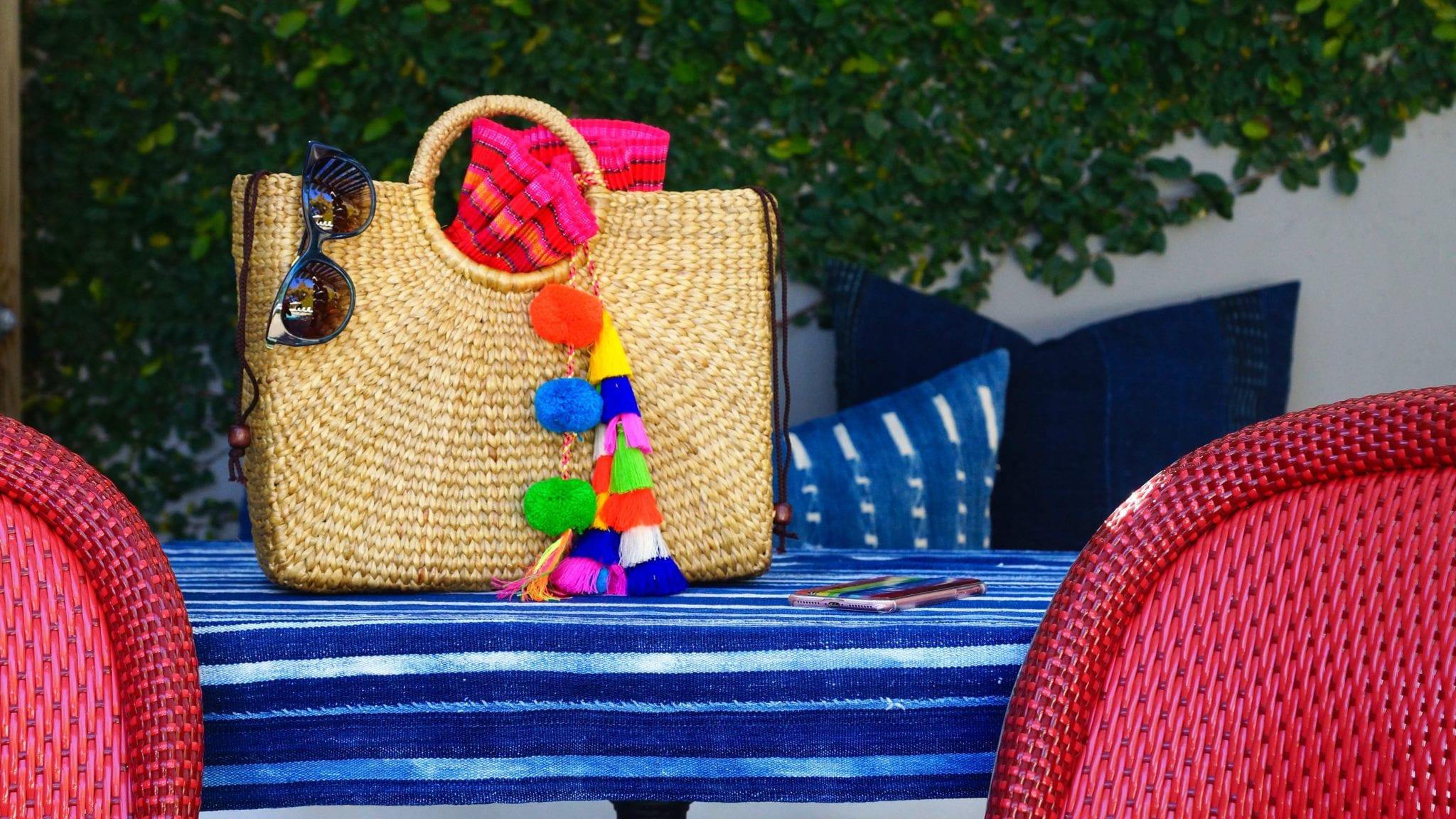 straw bag, sale, Shopbop sale, spring sale