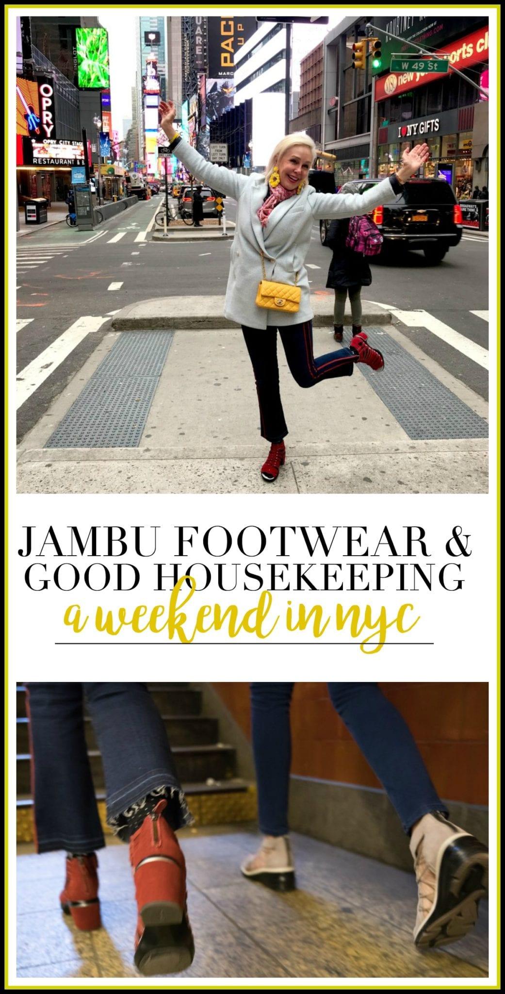bloggers Good Housekeeping GooD Housekeeping tour Hearst Corporation Jambu footwear lifestyle footwear New York City