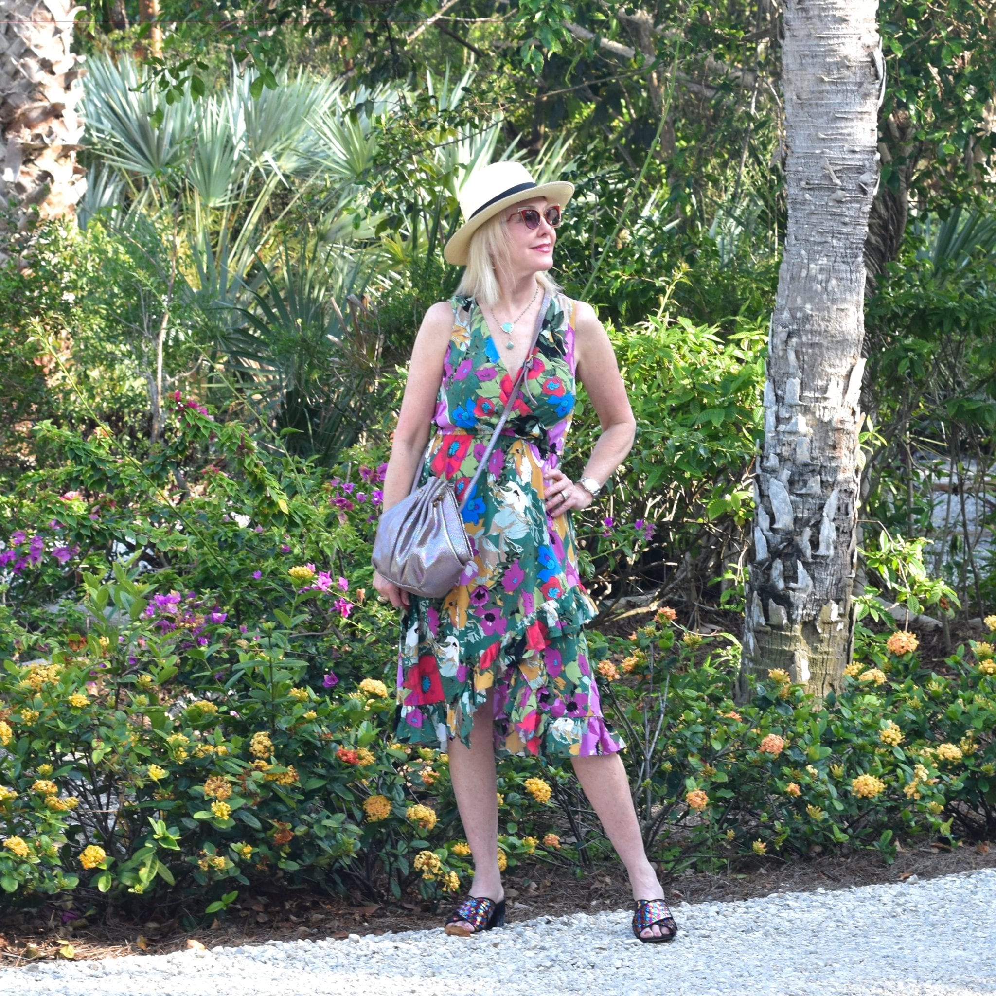 floral dresses, hats, summer dresses, ruffle dresses, Mother's Day Tribute