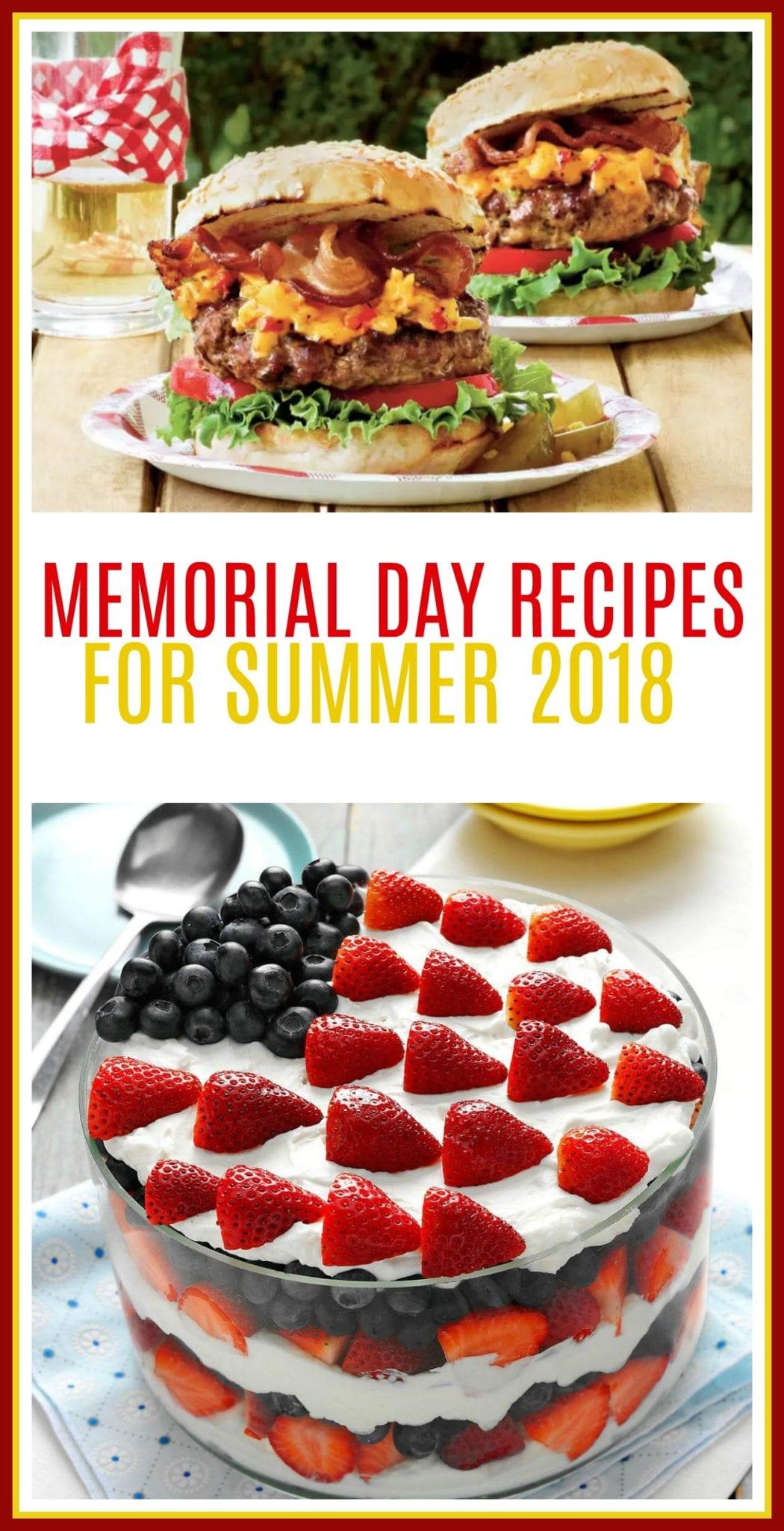 memorial day, memorial day recipes, memorial day games, memorial day 2018