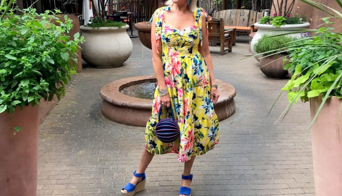 Floral dresses, Eliza J dresses, garden dresses,