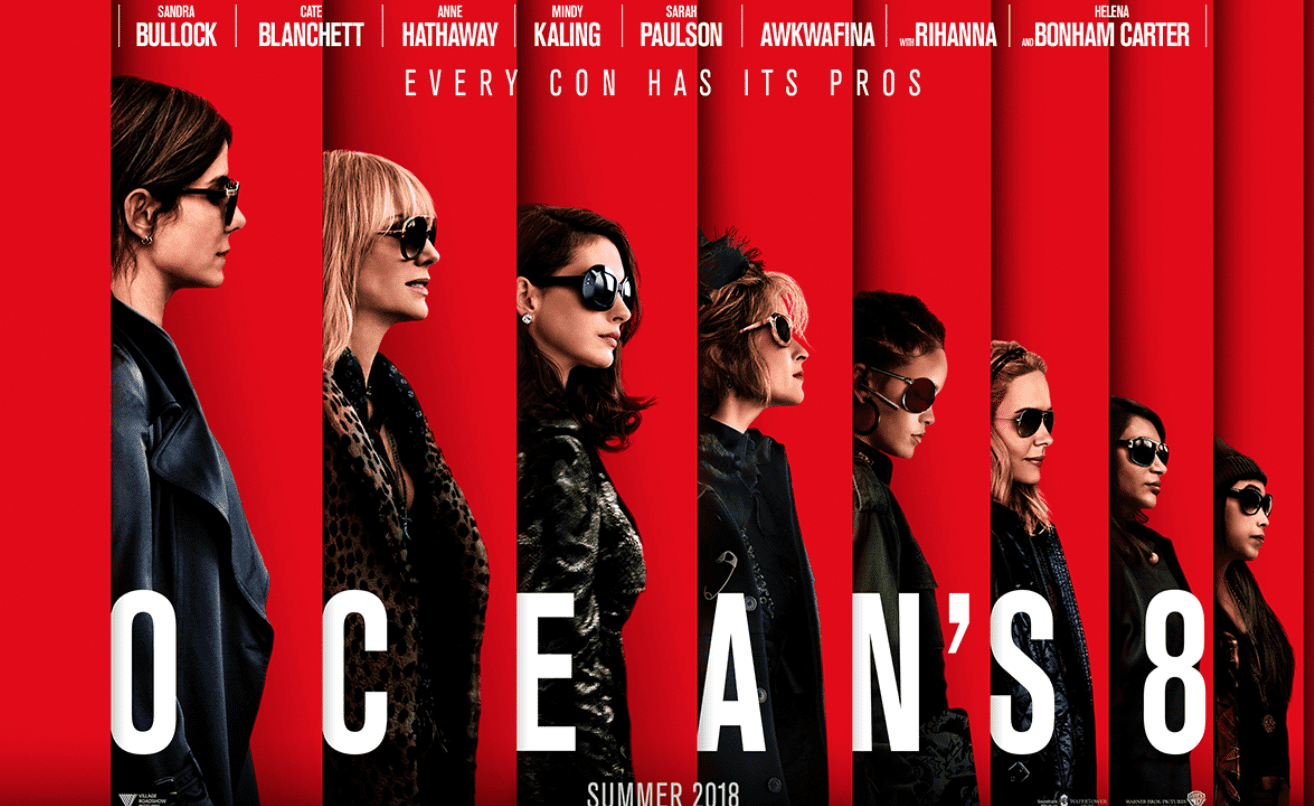 Oceans 8, movie, summer movie 2018