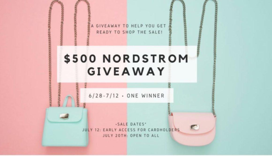 rafflecopter, giveaway, Nordstrom giveaway