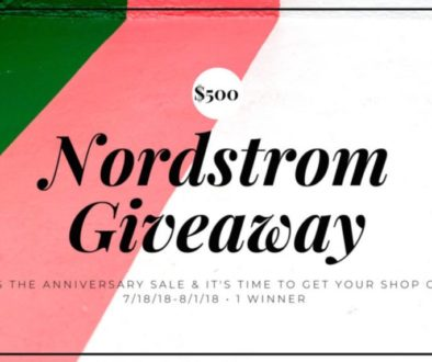 giveaway, win enter to win, Nordstrom Giveaway, Giftcard