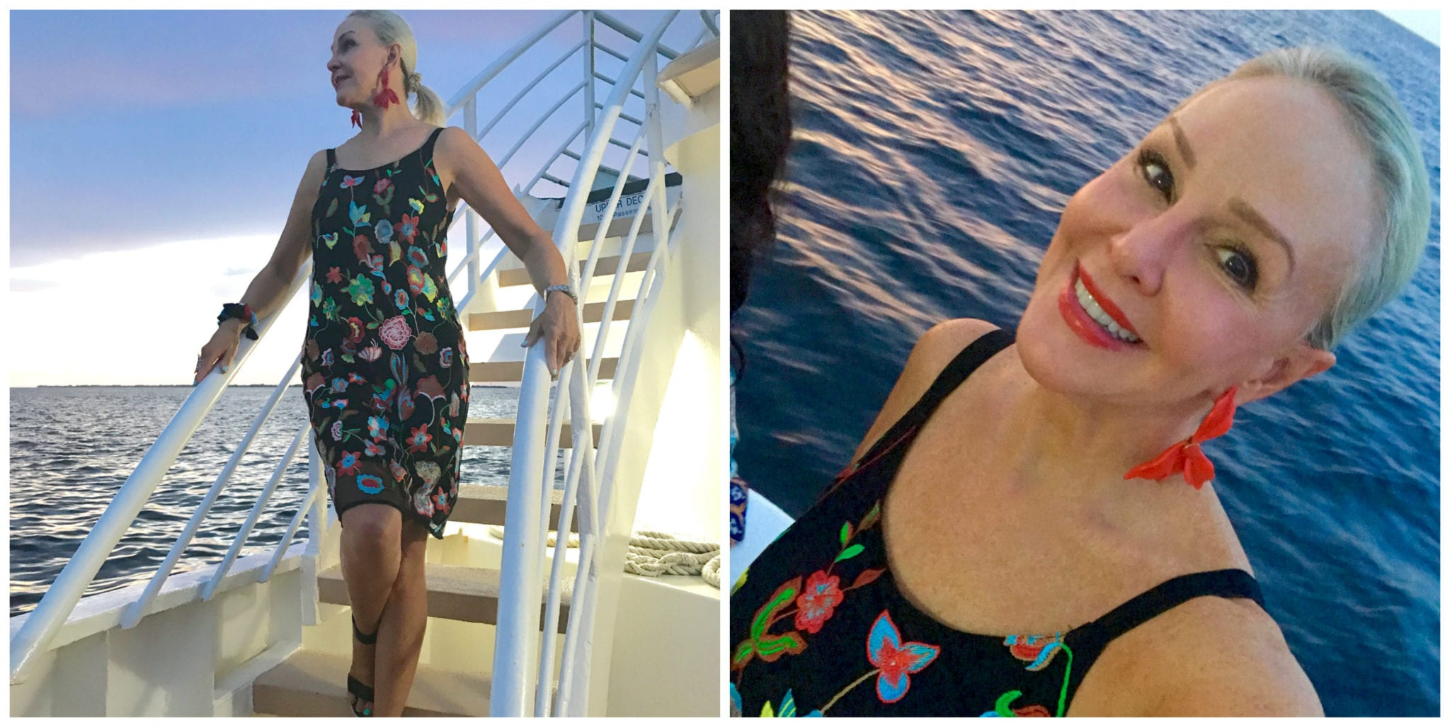 Outfit of the night, Chico's sunset cruise outfit, SheShe