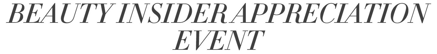 makeup, Sephora sale, Sephora Appreciation Event, insider memebers,
