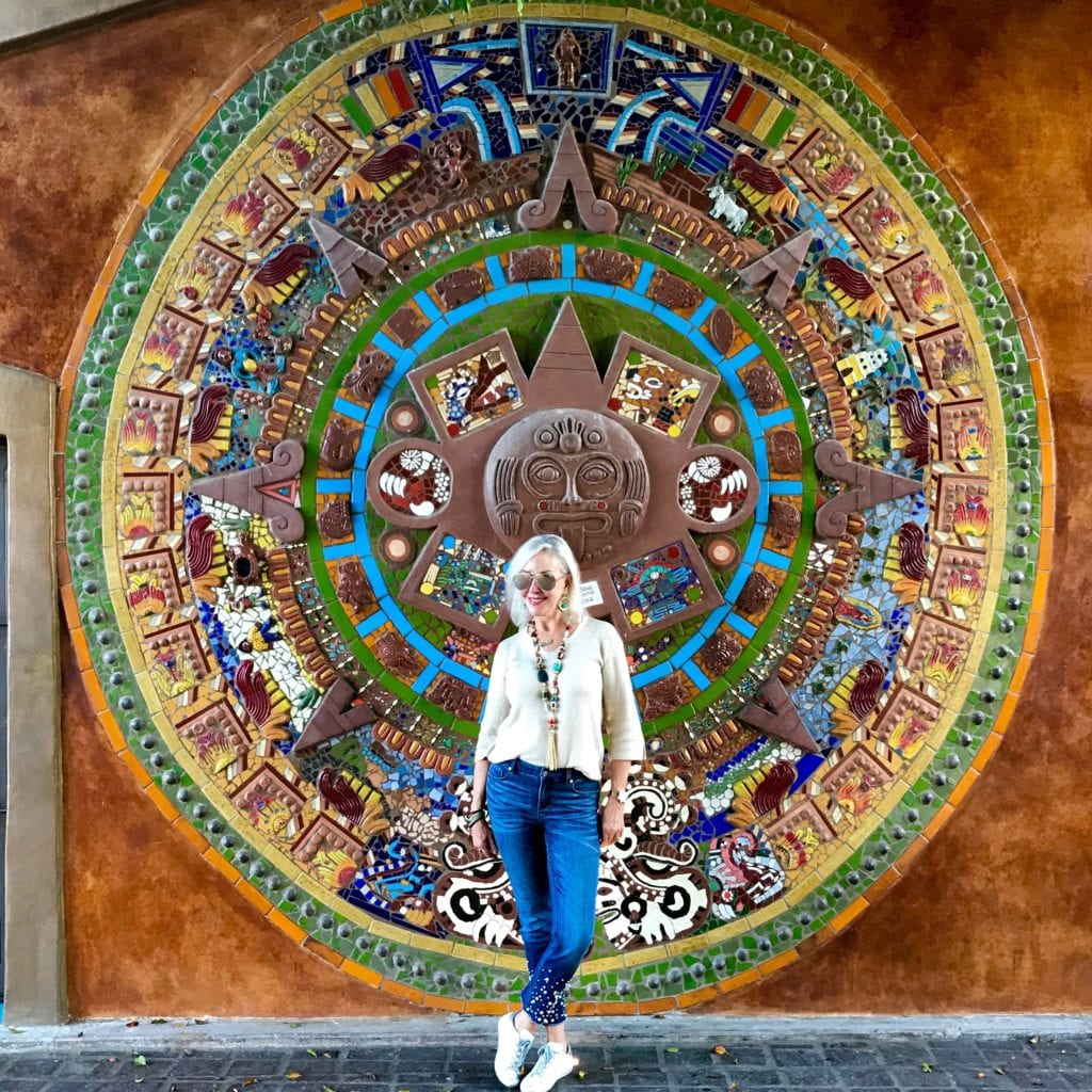 Mayan calendar mural, Todos Santos