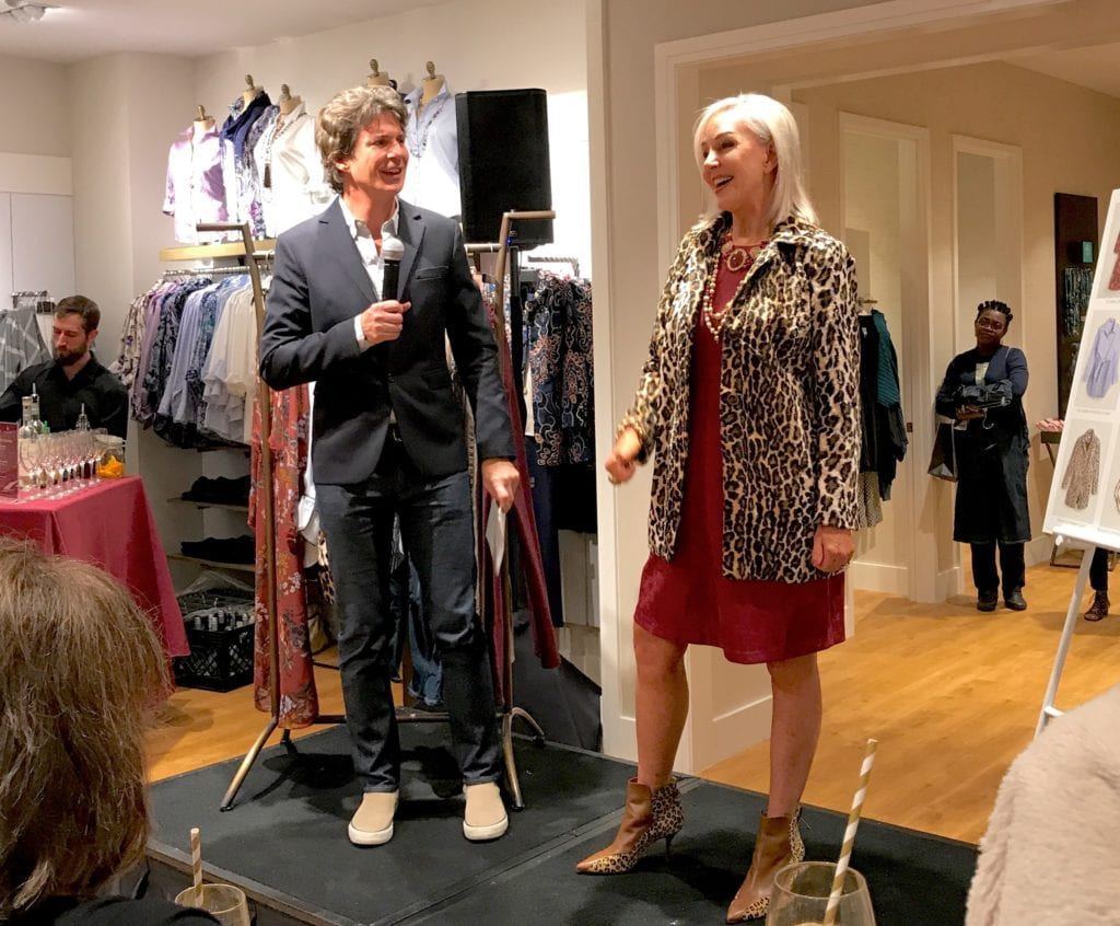 Chico's, Fall fashions, fall style, fall clothes, fall trends, fall sale, Adam Glassman, Leopard jacket
