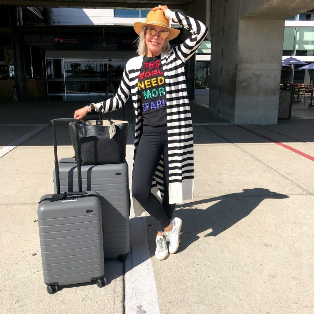 travel, destination Todos Santos, Baja Sur, suitcases