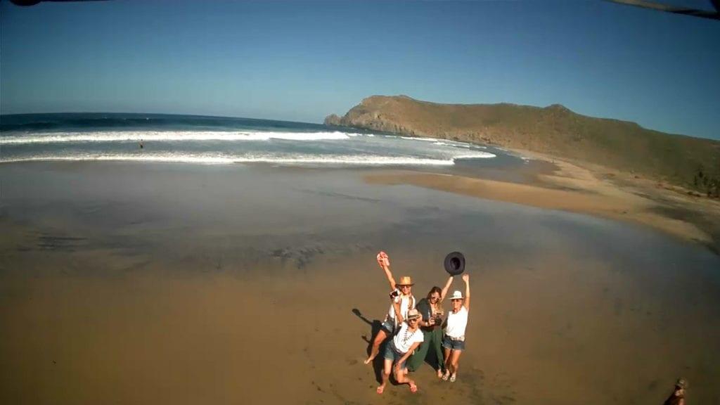 Todos Santos, Playa las Palmas, beach