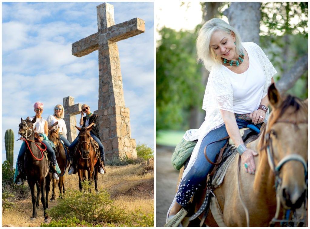 Rancho Las Cruces, Baja destination, luxury resort, Mexico, girls trip, vacation, horseback riding