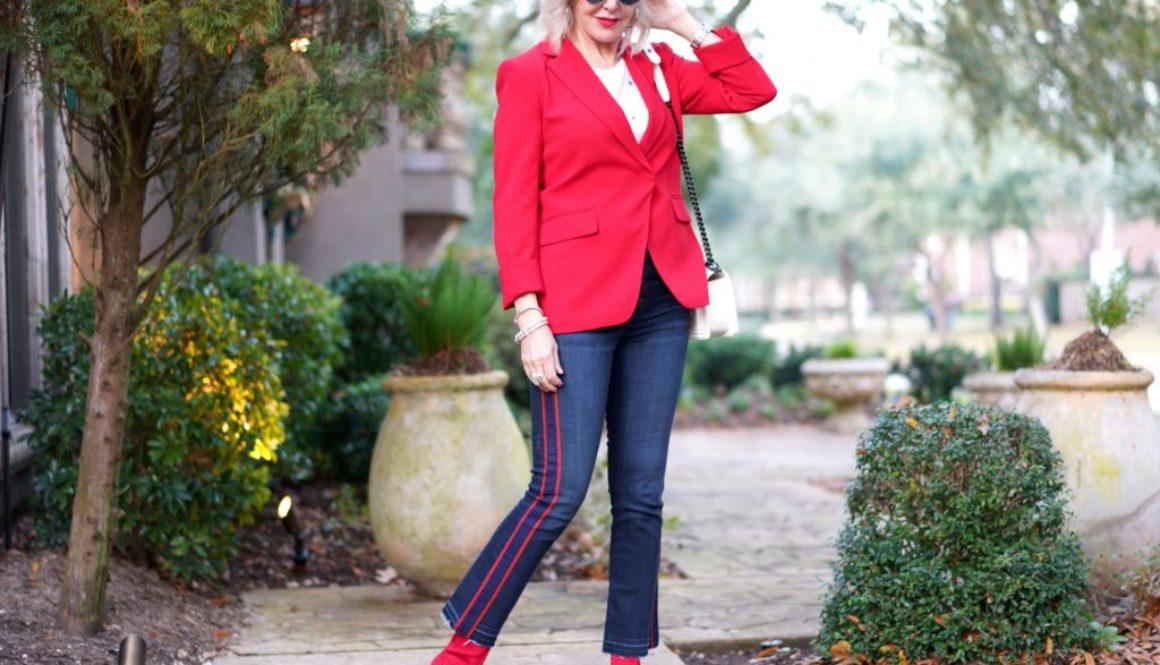 blazer, red blazer, pink blazers, valentines looks, red outfits, Valentines Day outfits