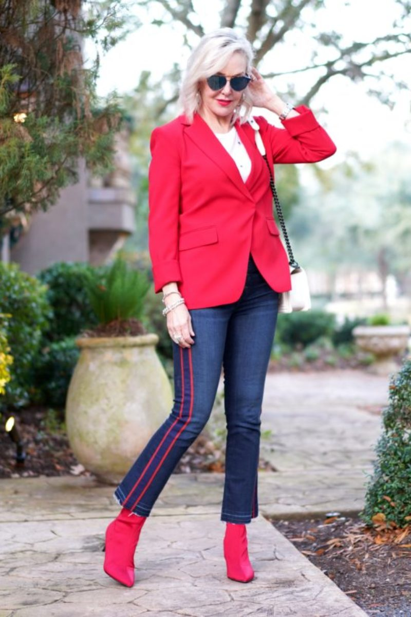 blazer, red blazer, pink blazers, valentines looks, red outfits, Valentines Day outfits