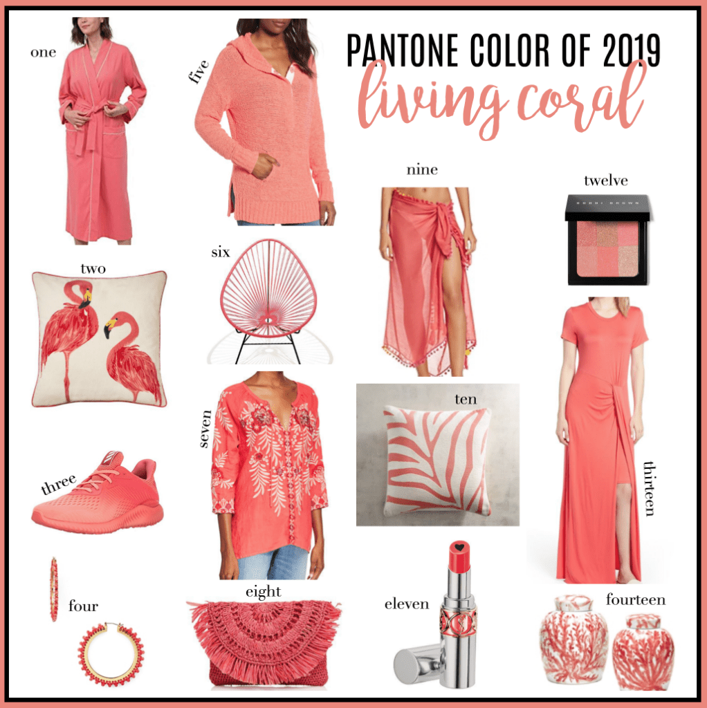 living coral, pantone color of the year