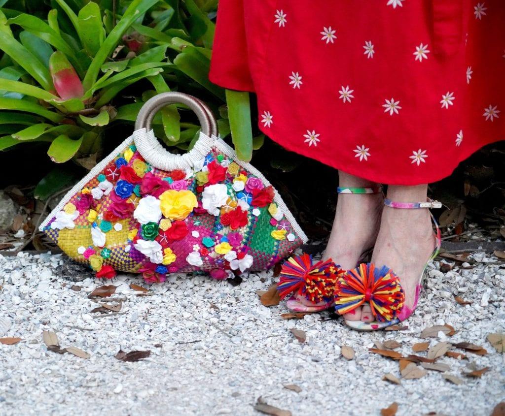 handbags, floral bags, Laro bag