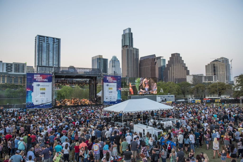 outdoor festival in Austin