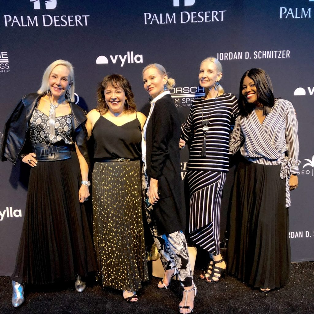 @SheSheShow, @fashionshouldbefun @moreturquoise @wardrobeoxygen @thereallifechic Palm Springs Fashion Week