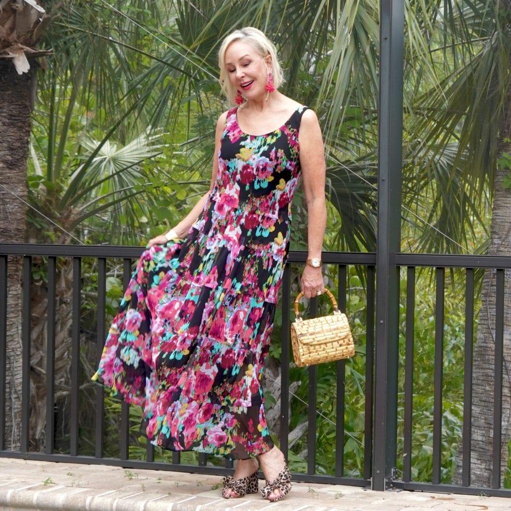 Floral dress, maxi dress, Mother's Day dress, under $60