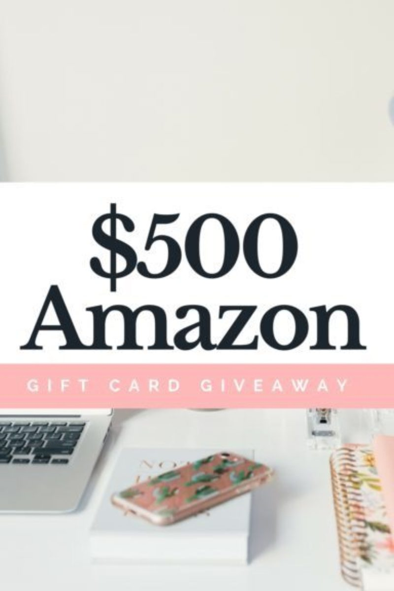 $500 Amazon Giveaway