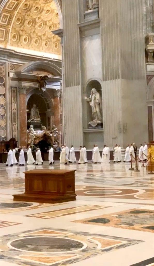 Mass priest vatican Rome, Italy