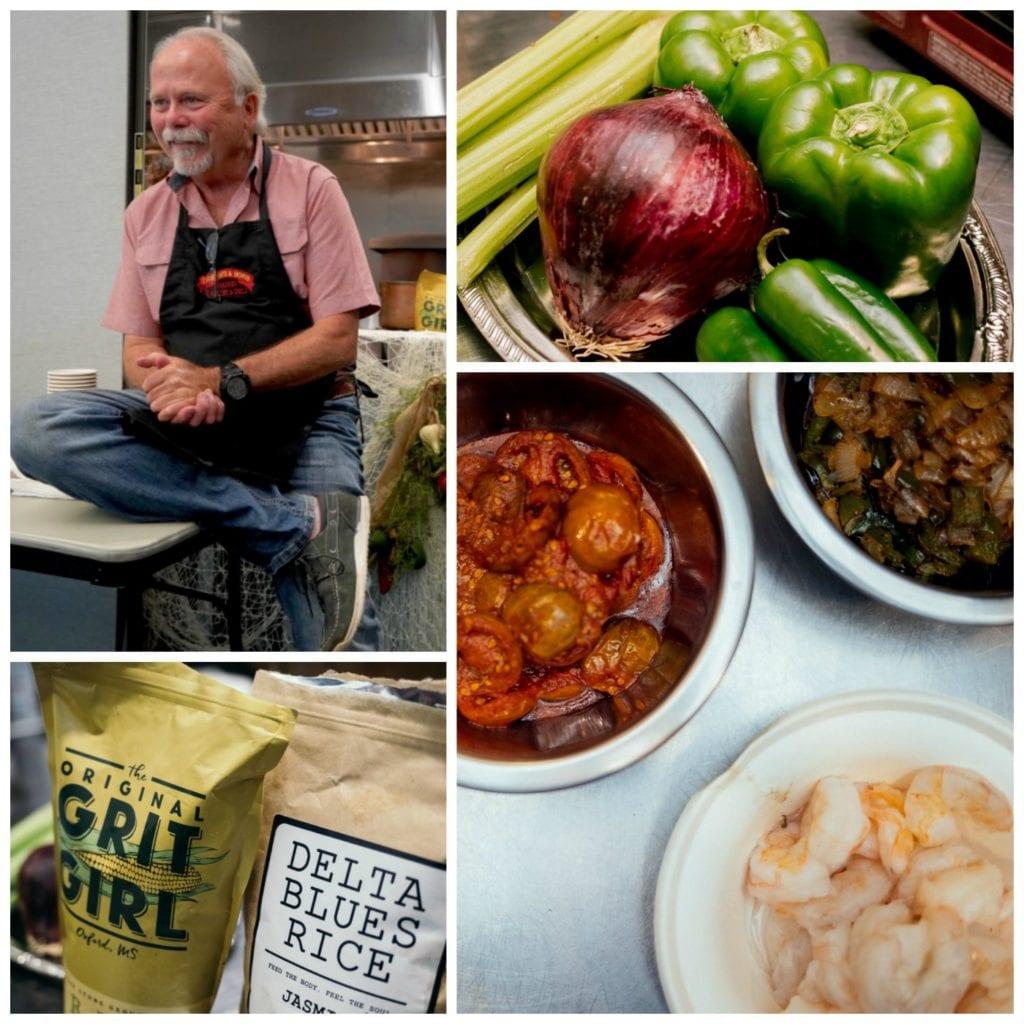 Food writer Julian Brunt, vegetables, gumbo