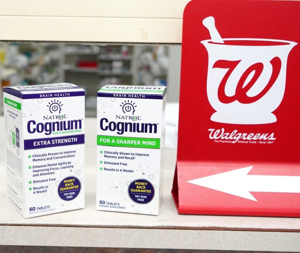 Walgreens supplement in box at Walgreens