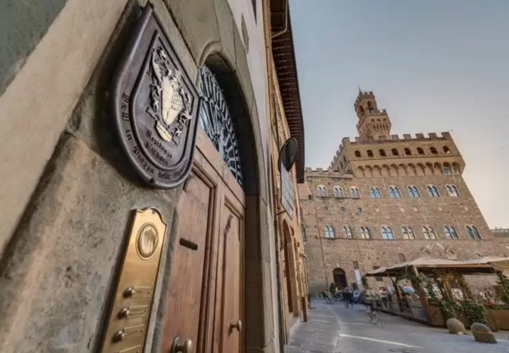 Front of of Boutique Hotel dell Signoria