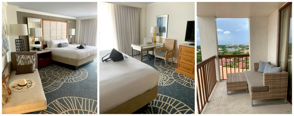 Naples Grande Resort rooms and balcony