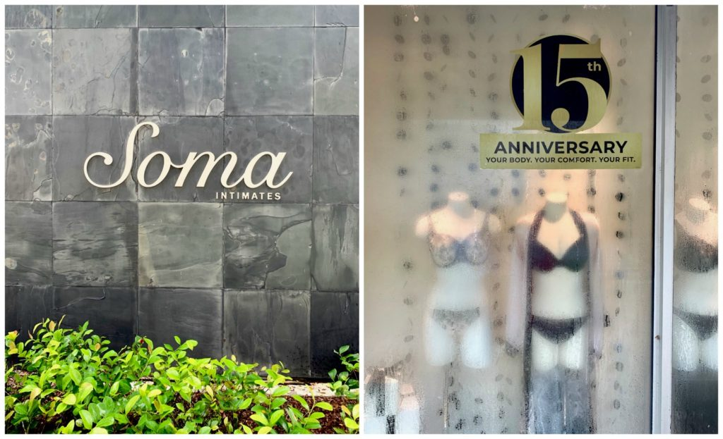 Soma boutique celebrating 15 year anniversary