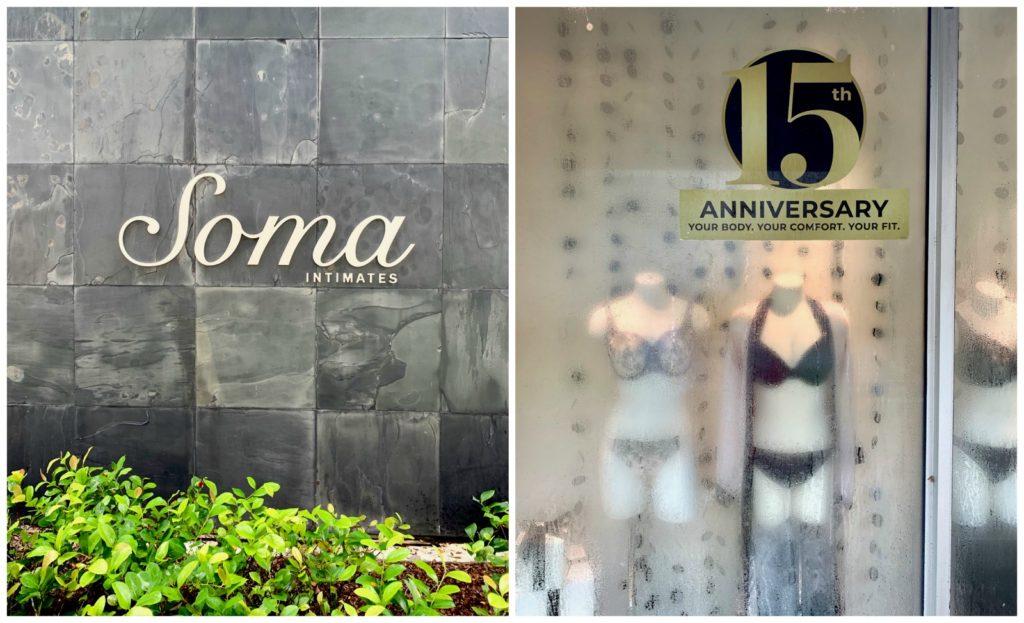 Soma boutique celebrating 15 year anniversary