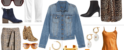 four ways to wear a denim jacket