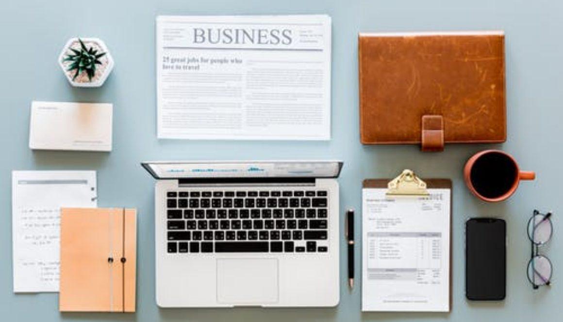 computer, planner, calendar
