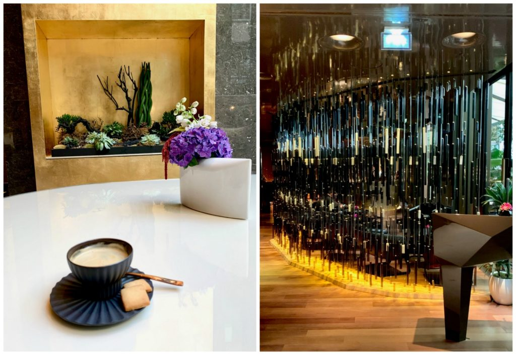 Mandarin Oriental Paris lobby and bar